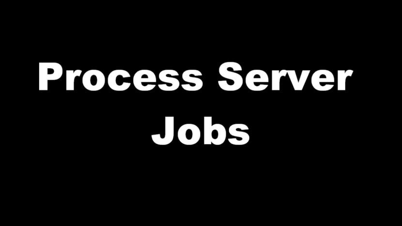 process server jobs
